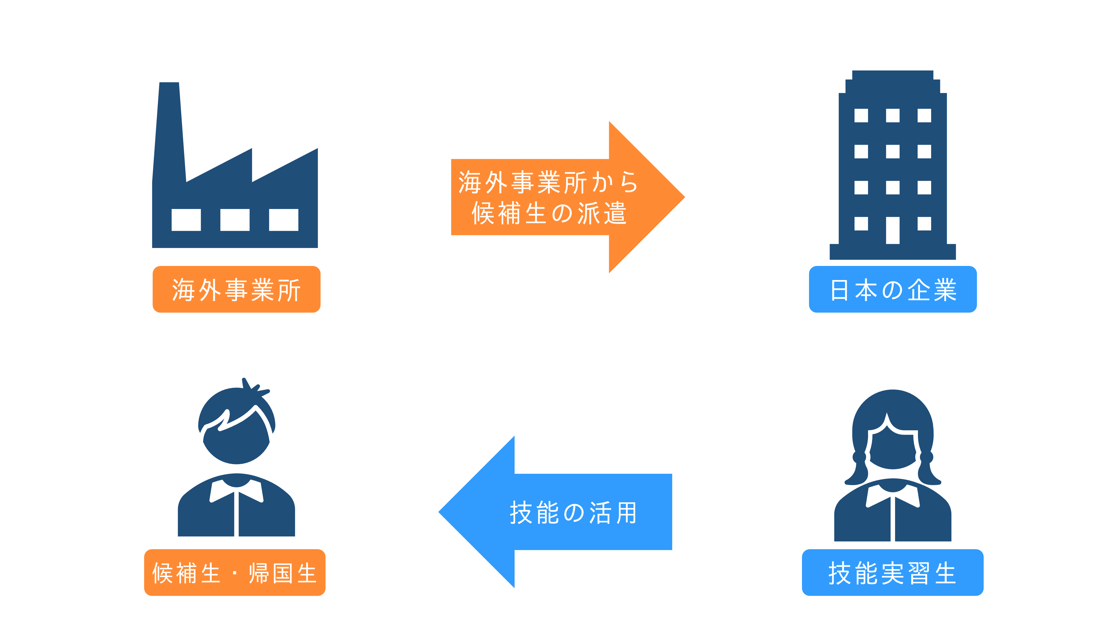 企業単独型の仕組み